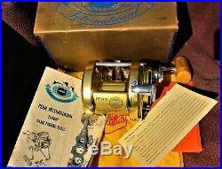 Vintage Penn International 30 Big Game Reel withBox, Paper, Bag, etc. GOOD COND