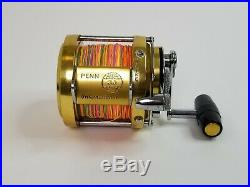 Vintage Penn International 30 Excellent Condition! Full of Braid