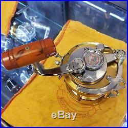 Vintage Penn International 30 Saltwater Reel Gold