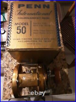 Vintage Penn International 50 Deep Sea Reel
