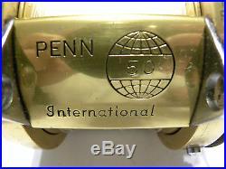 Vintage Penn International 50 Fishing Reel