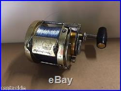 Vintage Penn International 50 Fishing Reel Made In USA Good Condition Serviced