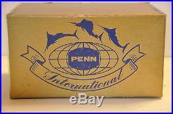 Vintage Penn International Reel 50 NIB
