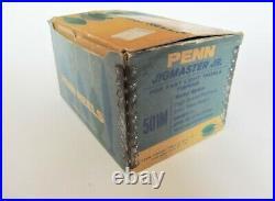 Vintage Penn Jigmaster Jr. 501M Quick Take-Apart Narrow Spool Reel + Box Mint