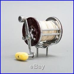Vintage Penn Jigmaster No. 500 Spinning Fishing Reel + Original Box & Catalog