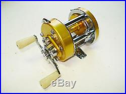 Vintage Penn Levelmatic 910 Baitcast Reel New In Box Never Used Made in USA