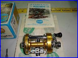 Vintage Penn Levelmatic No 930 Bait Casting Fishing Reel NIB LOOK NEW OPENED BOX