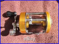 Vintage Penn Levelmatic No. 940 Big Game Bait Casting Reel withBOX EXEC COND