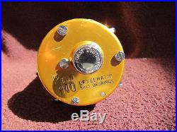 Vintage Penn Levelmatic No. 940 Big Game Bait Casting Reel withBOX GOOD COND
