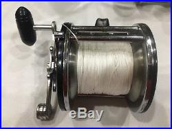 Vintage Penn Long Beach 67 Saltwater Conventional Fishing Reel Made In U. S. A