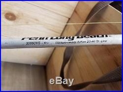 Vintage Penn Long Beach Rod Reel 3366CRG 6 1/2ft Medium Heavy Action 20-40lb