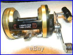 Vintage Penn Mag Power Model 980 Conventional Casting Reel & Original Box