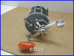 Vintage Penn Monofil 25 GRAY Conventional Fishing Reel Made In USA