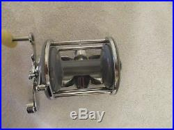 Vintage Penn Monofil # 25 Grey Sided Fishing Reel Excellent Condition (rare)