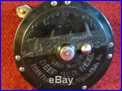 Vintage Penn No. 249 Bakelite Saltwater Reel
