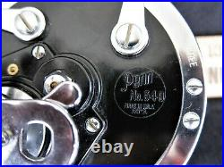 Vintage Penn No 349HC Master Mariner Big Game Reel withBox, Paper, etc UNUSED COND