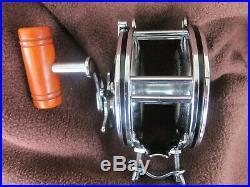 Vintage Penn No 349 Master Mariner Big Game Reel withBakelite Handle GOOD COND