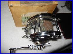 Vintage Penn No. 349 Master Mariner Metal Spool Salt Water Fishing Reel & Box
