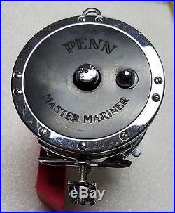 Vintage Penn No. 349 Master Mariner Trolling Ocean Fishing Reel Made in USA