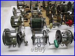 Vintage Penn Ocean City & More Set Of 20 Reels Parts Or Repair