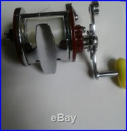 Vintage Penn Pearless No9 Modell ms. Salt water reel. MINT. With box. #30-109s