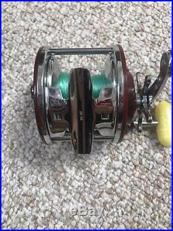 Vintage Penn Peer No. 309 Deep Sea Cast/troll Fishing Reelsuper Exceptional