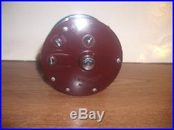 Vintage Penn Peer No. 309 Level Wind Fishing Reel with Orig Box Wrench Lube Minty