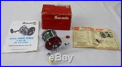 Vintage Penn Peerless 9MF Monofilament Fishing Reel withBox & Catalogues