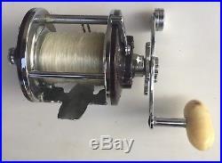 Vintage Penn Peerless Monofil 9 Casting Fishing Reel 9MS withBox