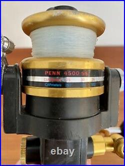 Vintage Penn Reel 4500 SS Made in USA Spinning Fishing Reel