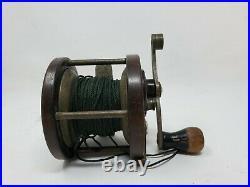 Vintage Penn Reel Seaford Trade Fishing Reel and String
