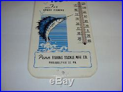 Vintage Penn Reels Fishing Thermometer 15 X-714