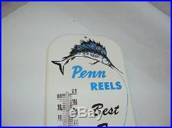 Vintage Penn Reels Fishing Thermometer 16 246-q