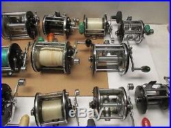 Vintage Penn Reels & More 18 Reels Parts Or Repair