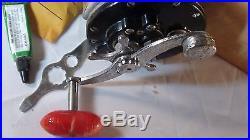 Vintage Penn Reels Penn Leveline 350 Casting Fishing Reel withBox