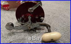 Vintage Penn Reels Squidder 140 M fishing unused in box with tools WOW