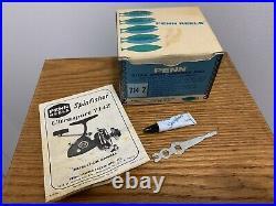 Vintage Penn SPINFISHER 714Z Saltwater Ultra Sport Spinning Fishing Reel in Box