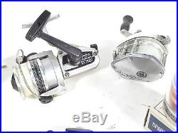 Vintage Penn SS Daiwa RS1600 Shimano Bantam 300 Fishing Spinning Reel LOT