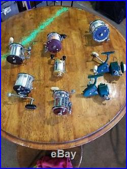 Vintage Penn Salt Water Reels In Excellent Condition Spinning And Conventional