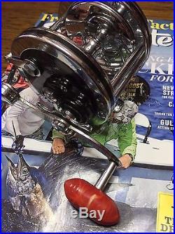 Vintage Penn Senator 111 2/0 Deep Sea Saltwater Conventional Trolling Reel EUC