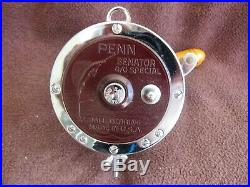 Vintage Penn Senator 113H 4/0 Big Game Reel In RARE NEWithCOLLECTIBLE COND