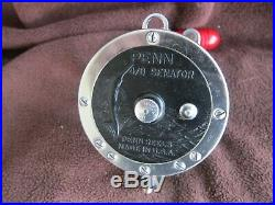 Vintage Penn Senator 113 4/0 Big Game Reel withNEWELL Spool, etc. EXEC COND