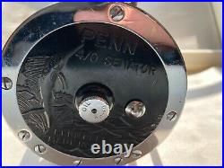 Vintage Penn Senator 113 4/0 Saltwater Fishing Reel Made in the USA