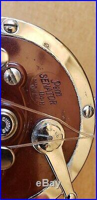 Vintage Penn Senator 114H 6/0 Fishing Reel Exct