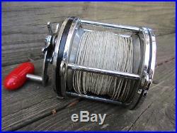 Vintage Penn Senator 114 6/0 Deep Sea Saltwater Fishing / Trolling Reel