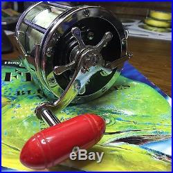 Vintage Penn Senator 114 6/0 Deep Sea Saltwater Fishing / Trolling Reel Mint
