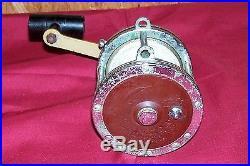 Vintage Penn Senator 114-H Big Game Fishing Reel Old Saltwater Bait Casting Fish