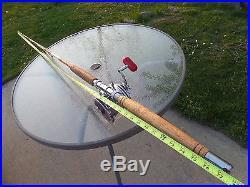 Vintage Penn Senator 114-H Fishing Reel on Gold Coast Rod Both SUPERB