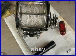 Vintage Penn Senator 115H 9/0 Saltwater Big Game Fishing Reel-with Extras