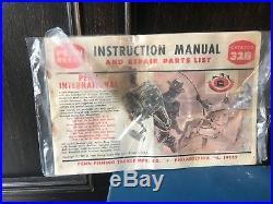 Vintage Penn Senator 12/0 116 Big Game Reel. With Box and Manual